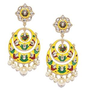 Elegant Women's Oxidized Earring | Women Fashion | Jewelry |