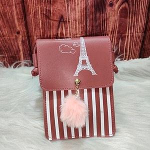 Beautiful Women's Peach PU Sling bags | Different varieties |