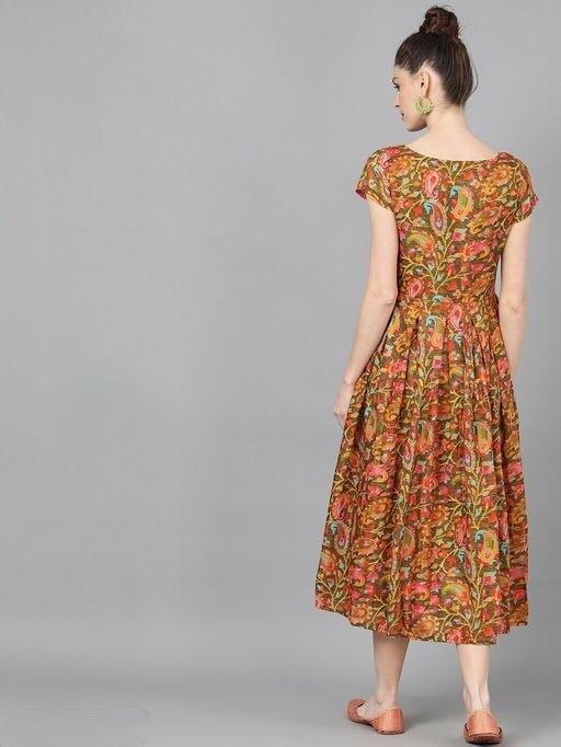 floral printed dress (1)