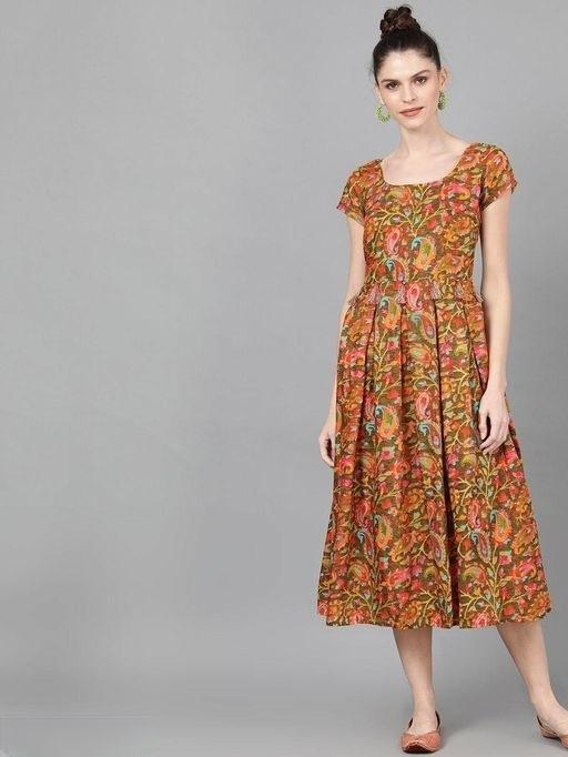 floral printed dress (2)
