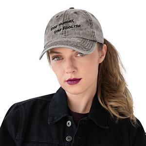 Premium Vintage Cotton Twill Cap