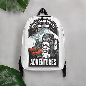 Minimalist Adventurous Backpack